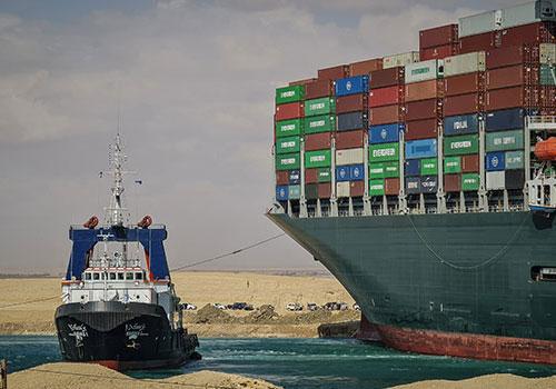 Suez crisis highlights bottlenecks