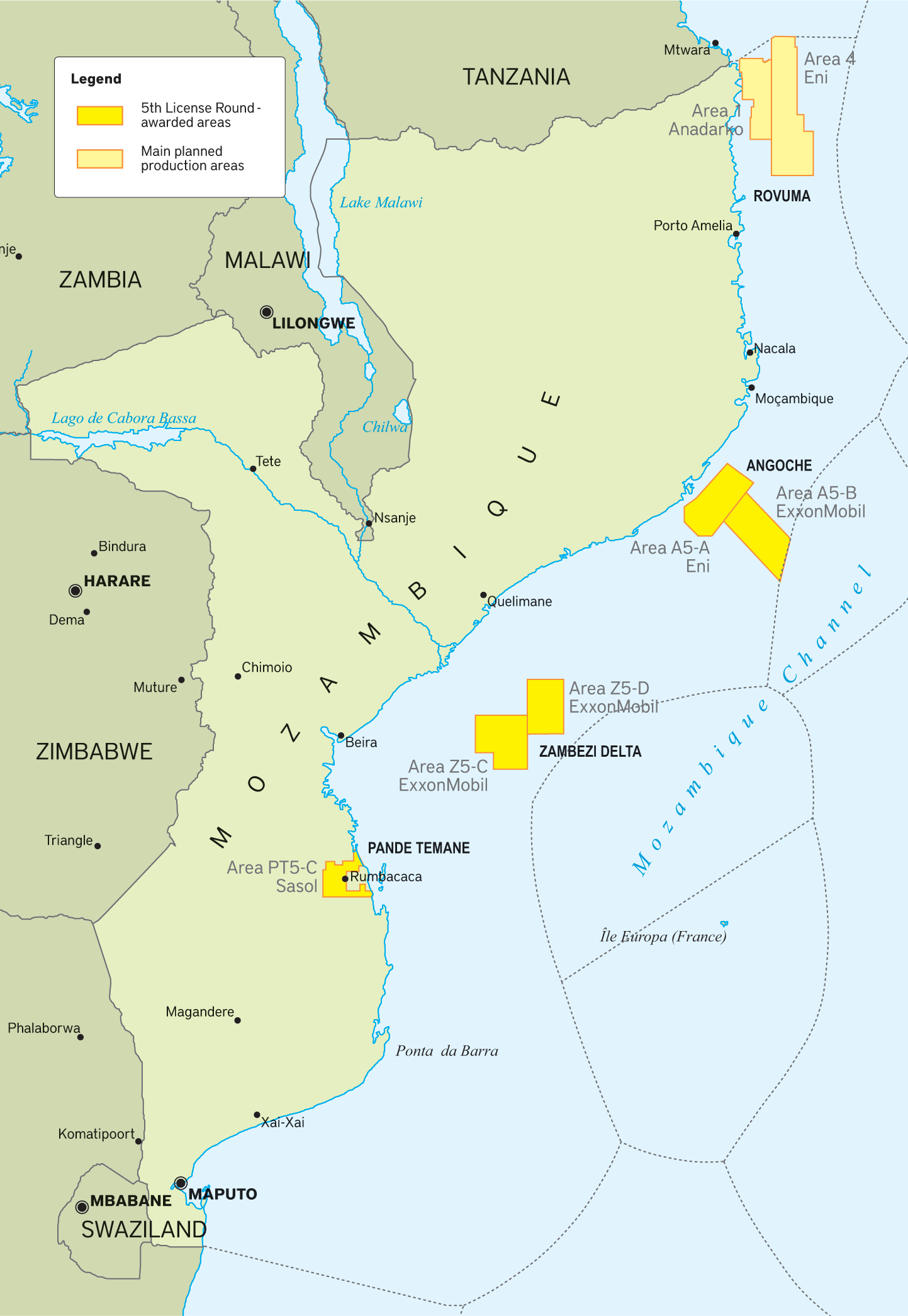Big hitters betting on Mozambique to be global LNG player